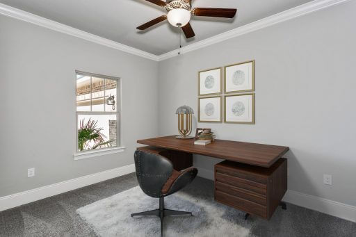 Heritage 2734 Floor Plan Office (Staged)