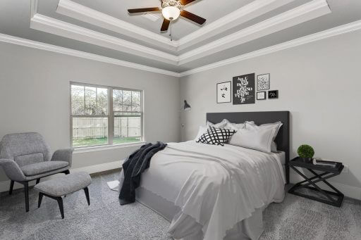Heritage 2734 Floor Plan Owner Bedroom (Staged)
