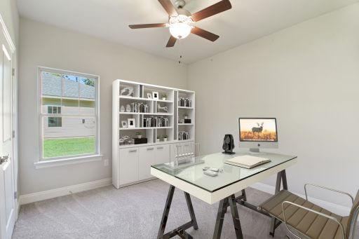 Olivera Floor Plan Bedroom 3 - Staged