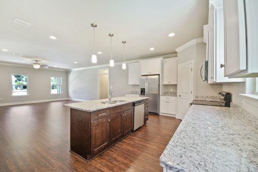 Olivera Floor Plan Kitchen to Living Area