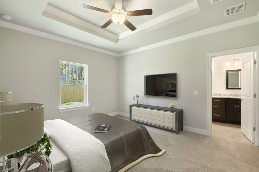Olivera Floor Plan Owner Bedroom - Staged