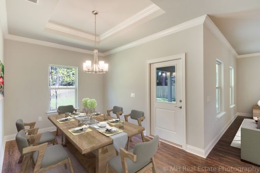 Rosetta Floor Plan Dining Room - Staged