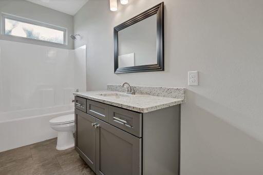 Rosewood Floor Plan Bathroom 2 (En Suite)