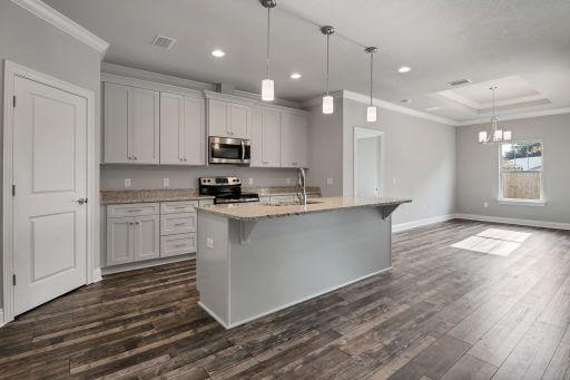 Rosewood Floor Plan Kitchen-Dining