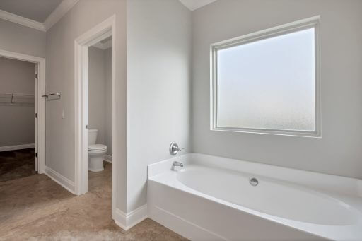 Rosewood Floor Plan Owner Bathroom Tub