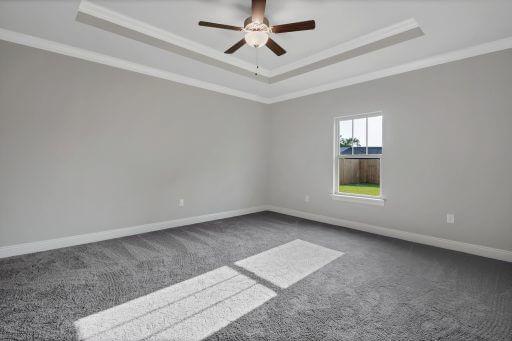 Rosewood Floor Plan Owner Bedroom
