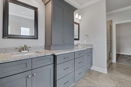 Rosewood Floor Plan Owner Vanity