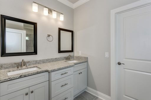Tortuga Floor Plan Owner Bathroom Vanity