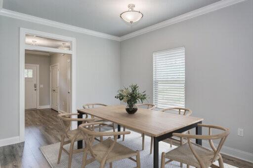 Ramsey Walker Jordan 1781 Floor Plan-Dining Room (Staged)
