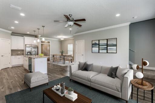 Ramsey Walker Jordan 1781 Floor Plan-Living Room (Staged)