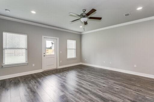 Ramsey Walker Jordan 1781 Floor Plan-Living Room (from Kitchen)