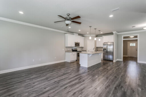 Ramsey Walker Jordan 1781 Floor Plan-Living Room (from stairs)