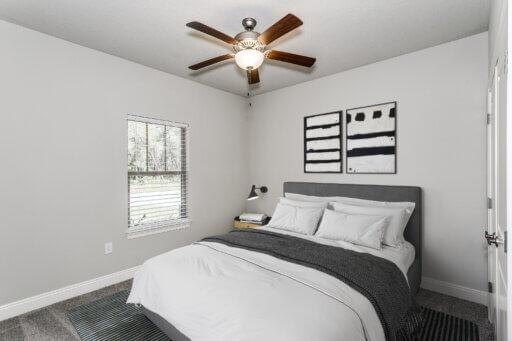 Ramsey Walker Medlin 2297 Floor Plan-Downstairs Bedroom 2 (Staged)