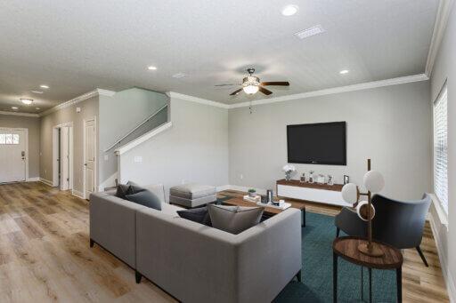 Ramsey Walker Medlin 2321 Floor Plan-Family Room (Staged)