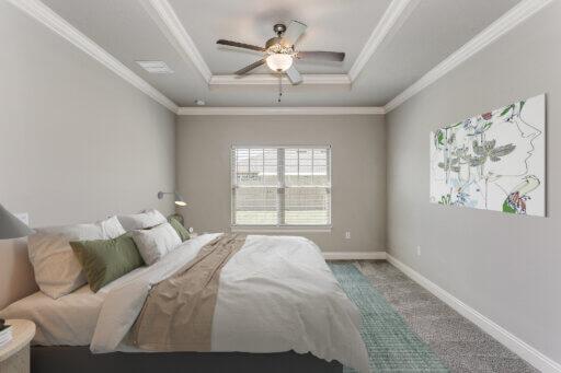 Ramsey Walker Medlin 2321 Floor Plan-Owner Bedroom (Staged)