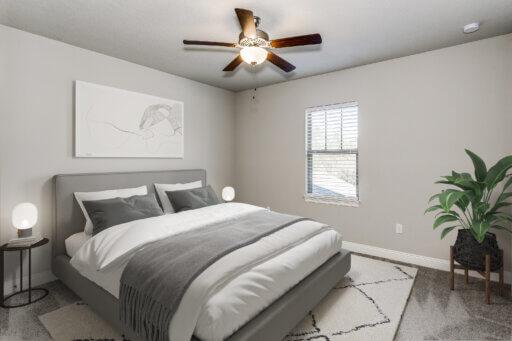 Ramsey Walker Medlin 2327 Floor Plan-Bedroom 3 (Staged)