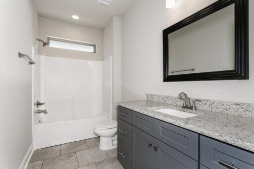 Ramsey Walker Medlin 2327 Floor Plan-Downstairs Bathroom