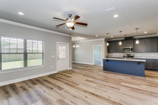 Ramsey Walker Medlin 2327 Floor Plan-Family Room-Kitchen