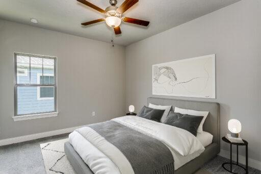 Ramsey Walker Village 1876 Floor Plan-Bedroom 2 (staged)
