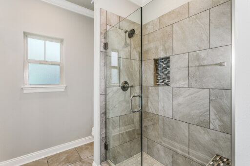 Ramsey Walker Village 1876 Floor Plan-Owner Shower